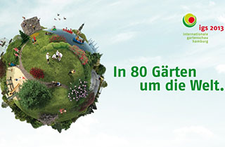 igs hamburg: Internationale Gartenmesse locktt mit 80 Gärten an die Elbe