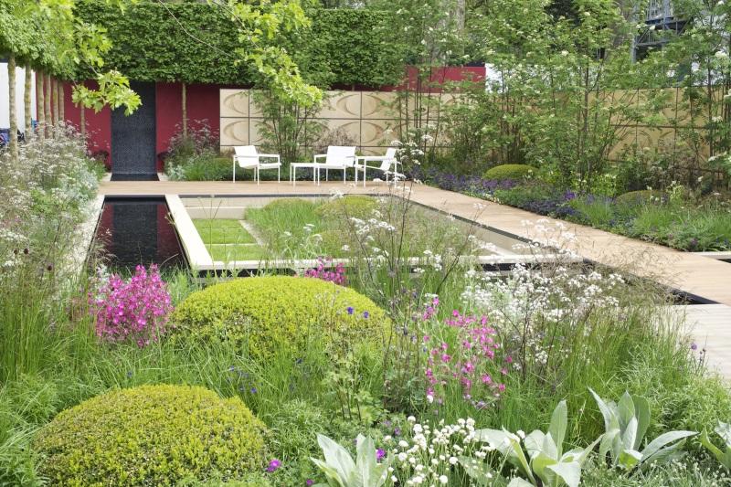 bilder der chelsea flower show 2013 und naturgarten trend. Black Bedroom Furniture Sets. Home Design Ideas
