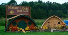 DIY Hobbit-Haus