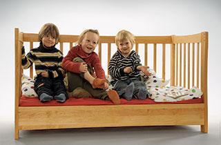 Clevere, ökologische Kindermöbel mit gutem Zweck
