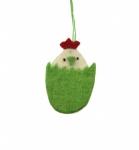 Hänger Huhn grün