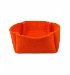 Korb Filz orange