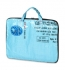 Notebook-Tasche Recycling, blau