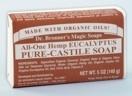 Dr. Bronner's Magic Soap Bar - Pflanzliche Seife Eukalyptus
