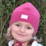 Pickapooh - Kinder-Mütze Fritz aus Walk rosa, kbT