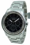 Esprit Uhr Damenuhr Multifunktion Starlite pure silver black ES105442003