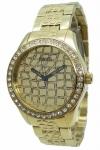 Guess Uhr Damenuhr W0236L2 Croco Glam gold