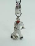 Fossil Charm Charms Anhänger Elvis Figur JF86008