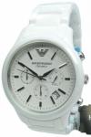 Emporio Armani Uhr Herrenuhr Chronograph AR1453 Ceramica