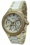 Donna Karan New York Uhr Damenuhr Chrono DKNY NY8182 Ceramic