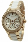 Donna Karan New York Uhr Damenuhr Chrono DKNY NY8183 Ceramic