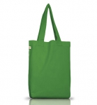 Earth Positive Doppelpack - Organic Cotton Bag - leaf green