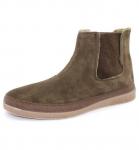 Natural World Bota Elastico Suede - Schuhe aus Wildleder - marron