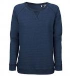Stanley & Stella Stella Trips denim - Sweatshirt aus Bio-Baumwolle - mid indigo
