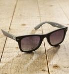 Antonio Verde Torino - Sonnenbrille aus recyl. Kunststoff - schwarz