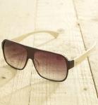 Antonio Verde Venice - Sonnenbrille aus recyl. Kunststoff & Bambus -brown