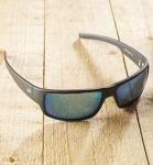Antonio Verde Parma - Sonnenbrille aus recyl. Kunststoff - schwarz/blau
