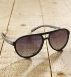 Antonio Verde Bologna - Sonnenbrille aus recyl. Kunststoff - schwarz