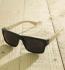 Antonio Verde Roma - Sonnenbrille aus recyl. Kunststoff & Bambus - schwarz