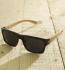 Antonio Verde Roma - Sonnenbrille aus recyl. Kunststoff & Bambus schwarz glanz