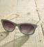 Antonio Verde Trento - Sonnenbrille aus recyl. Kunststoff & Bambus - grey