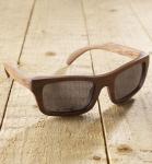 Antonio Verde Rimini - Sonnenbrille aus Holz - red rose