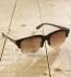 Antonio Verde Trieste - Sonnenbrille aus Holz - ebony