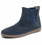 Natural World Bota Elastico Suede - Schuhe aus Wildleder petroleo