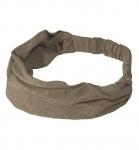 HempAge Haarband aus Hanf und Biobaumwolle - oak
