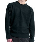 Continental Clothing Inside-Out Distressed Vintage Washed Sweatshirt schwarz