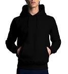 Continental Clothing Pullover Hooded Sweatshirt schwarz