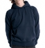 Continental Clothing Distressed Vintage Washed Hoodie washed navy blue