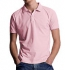 Continental Clothing Jersey Polo T-Shirt pastel pink