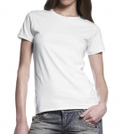 Continental Clothing Organic Jersey T-Shirt weiss