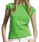 Continental Clothing Raw Cut Jersey T-Shirt spring green