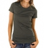 Earth Positive Organic Slim-Fit T-Shirt dark grey