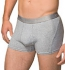 Hanes Stretch Cotton Boxer - Shorts grau meliert