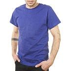 zündstoff T-Shirt aus fairem Handel purple blue
