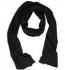 nakedshirt Unisex Bamboo Scarf - Jersey-Schal schwarz