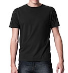 Earth Positive Organic Vintage Washed T-Shirt schwarz