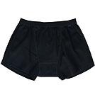 Neutral Organic Rib Boxer Shorts Fairtrade schwarz