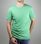 Canvas Triblend Crew Neck T-Shirt grün-meliert