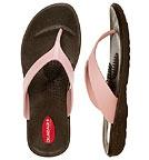 Okabashi Ocean - Frauen Flipflops - braun-pink