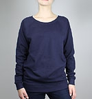 Earth Positive Organic Raglan Sweatshirt navy