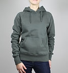 Continental Clothing Pullover Hooded Sweatshirt charcoal