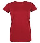Stanley & Stella Stella Lives - Jersey-Kurzarmshirt aus Bio-Baumwolle - rot
