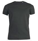 Stanley & Stella Stanley Pokes - Vintage T-Shirt aus Bio-Baumwolle - mattschwarz