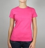 Continental Clothing Classic Fitted T-Shirt hot pink