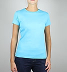 Continental Clothing Classic Fitted T-Shirt hawaii blue