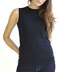 Mantis Organic Loose Fit Tank T-Shirt schwarz